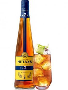 METAXA  5* 0,7l 38% obj.+ SKLO