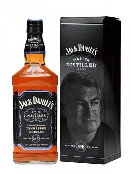 JACK DANIELS MASTER No.6 43% 0,7l L.E