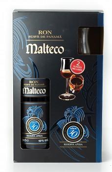MALTECO 10Y + 2x SKLO 0,7l 40%obj.