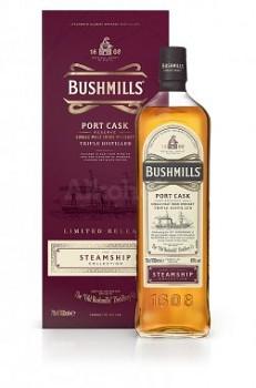 BUSHMILLS STEAMSHIP PORT CASK 40% 0,7l