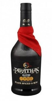 PIRATHAS BLACK SPICED 0,7l 35%obj.