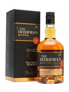 THE IRISHMAN FOUNDERS RESEVE 0,7l40%obj.
