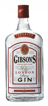 GIBSON´s DRY GIN                                   0,7L 37,5%